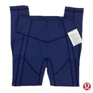 Lululemon 8 All the Right Places 2 Leggings Blue